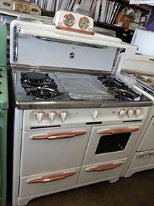 HOME: SAVON Appliance Refinishing stove vintage, Wedgewood